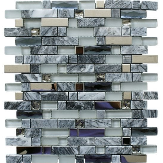 Carrara-Grey-Sheet mosaic tiles