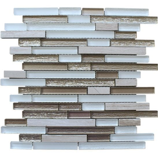 Costal-Oyster-Sheet mosaic tiles