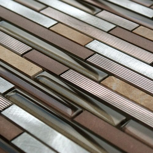 Alchemist Brown Mosaic Tiles