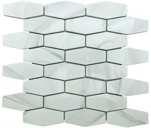 Athena Diamond Tiles - Recycled Glass