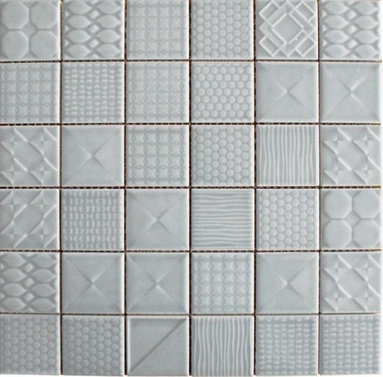 Geo Denim Ceramic Tiles