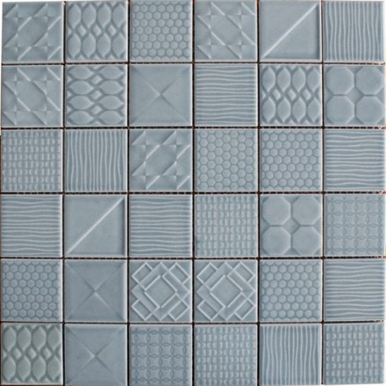 Geo Blue Ceramic Tiles