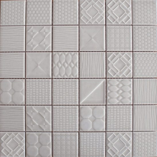 Geo Grey Ceramic Tiles